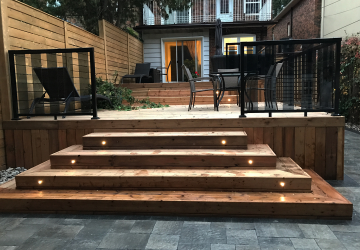 custom decks toronto Preassure Treated Deck